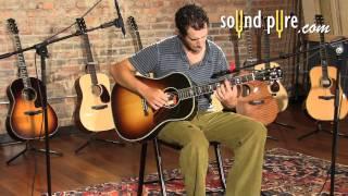 Gibson AJ Custom Shop Luthiers Choice Acoustic Guitar Demo