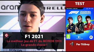 vidéo test F1 2021 par ConsoleFun