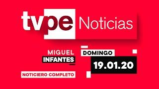 Actualiza tu información en TVPerú Noticias con Miguel Infantes