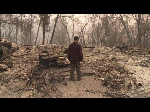 عدد المفقودين جراء حريق كاليفورنيا يتجاوز ألف شخص