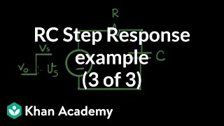 RC step response 3 of 3 example