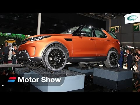 2017 Land Rover Discovery at Paris Motor Show – First Look