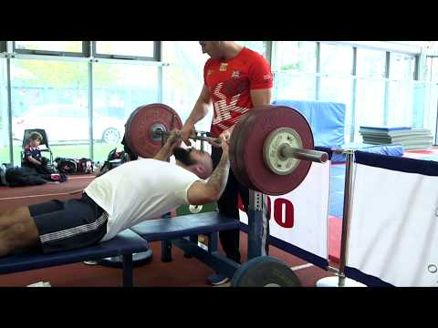 Invictus powerlifters press to impress at Brunel