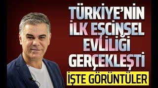 Türkiye'nin ilk eşcinsel evliliği gerçekleşti!