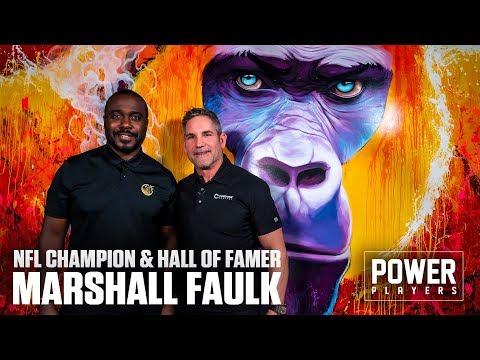 NFL Champion and Hall of Famer Marshall Faulk visits 10X Headquarters photo