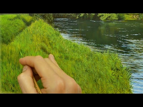 How to paint fine grass details | Episode #182