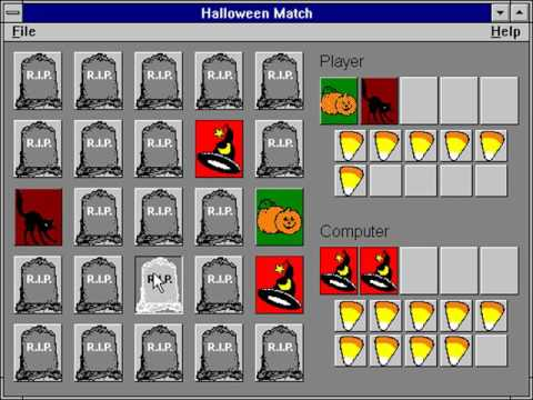 Halloween Match (Glen DeBiasa) (Windows 3.x) [1993]