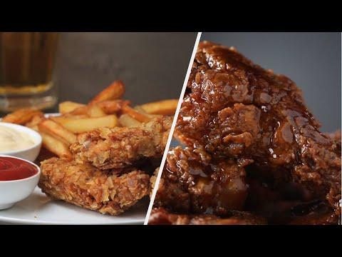 How to Make Crispy Fried Chicken Recipes ? Tasty