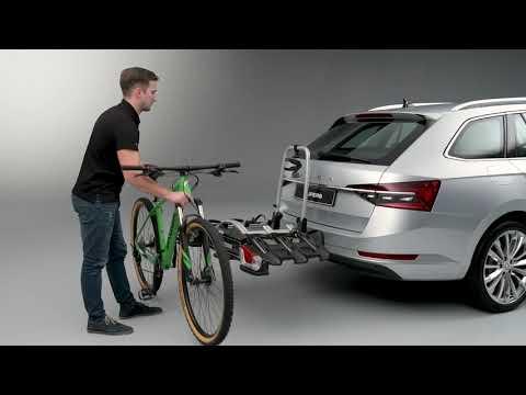 Cykelhållare för montering på dragkrok (för tre cyklar)