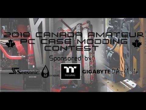 Canadian Amateur Modding Competition 2018