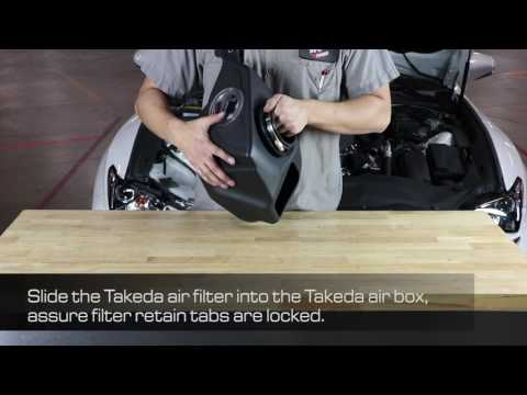 How To Install aFe Power 2016-2017 Lexus RC 200t I4-2.0L (t) Takeda Intake System TM-2018L-R