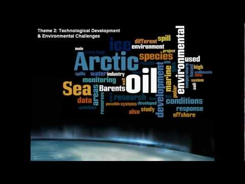 Word Clouds of Arctic Frontiers 2012