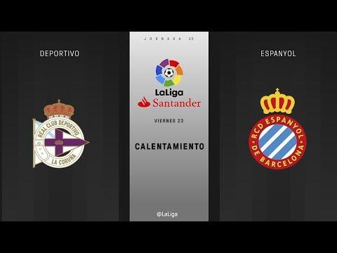 Calentamiento Deportivo vs Espanyol