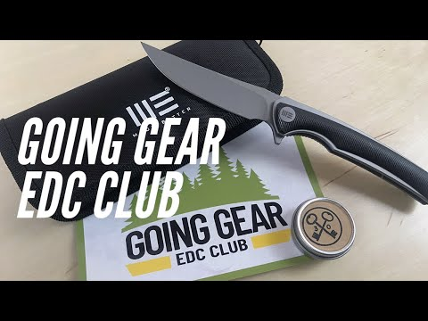 Going Gear EDC Club: Just 2 Items but 2x The Value - WE Knife and 3 Key Bushcrafter's Balm