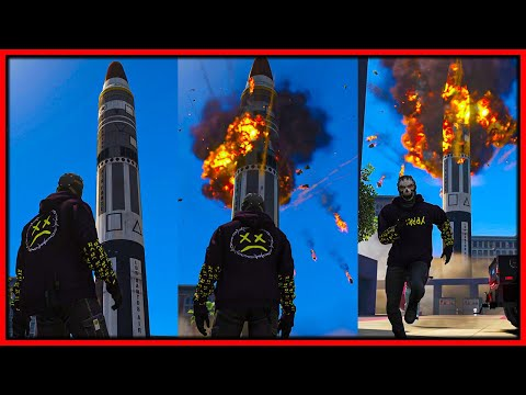 GTA 5 Roleplay   I NUKE THE WHOLE CITY   RedlineRP