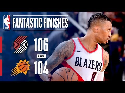 The Trail Blazers and Suns Go Down to The Wire | February 24, 2018