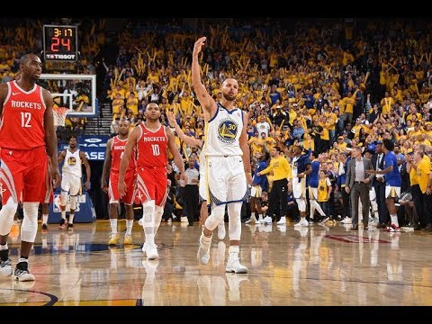 Stephen Curry's Best Buckets From The 3rd Quarter of Games 3 and 4   35 Combined Points!