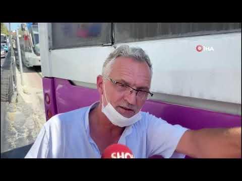 Tramvay Otobüse Çarptı: 2 Yaralı