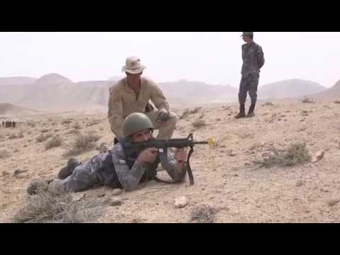 DFN:BLT 2/6 conducts bilateral training with JAF for Eager Lion 18, JORDAN, 04.21.2018