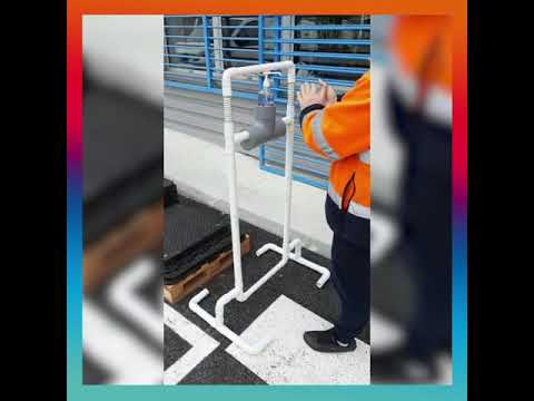 #SaintGobainWithYou: An innovative contactless hydro-alcoholic gel dispenser
