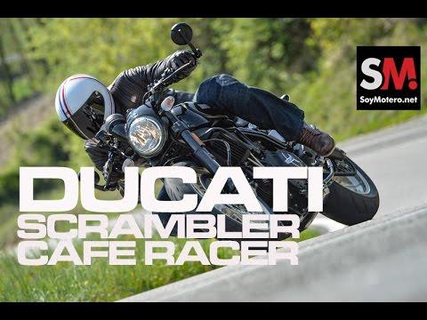 Ducati Scrambler Café Racer 2017: Prueba Moto Neo retro [FULLHD]