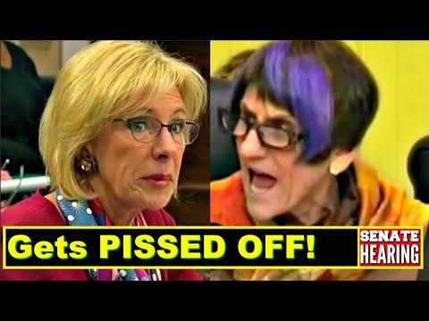Betsy DeVos gets 'FerociousIy' GRILLED by Congresswoman