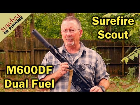 Surefire Scout M600DF Weapon Light - Made in the USA