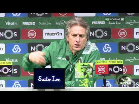Conferência de Imprensa Jorge Jesus - Sporting CP 2 X 1 Feirense - 08 de janeiro de 2017