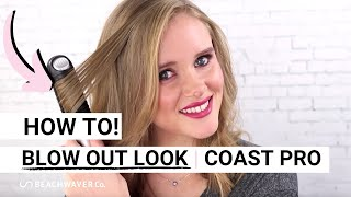 Achieve a blow out look using the Coast Pro