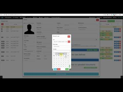 Smart2Car - How to create new Drivers Accounts (INSOFTDEV)