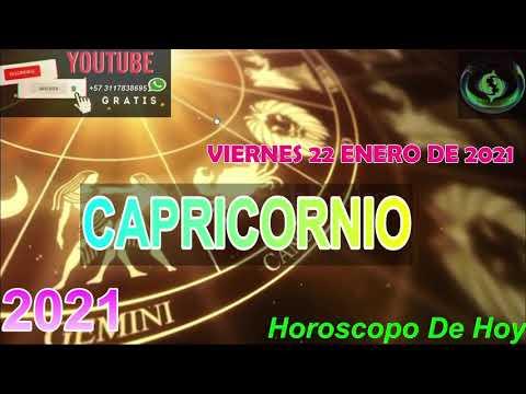 Horoscopo de hoy Capricornio   Viernes 22 de Enero De 2021#horoscopodehoy