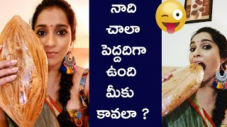 Anchor Rashmi Gautam Eating Tapeshwaram Khaja | Anchor Rashmi Gautam Latest - RAJSHRITELUGU