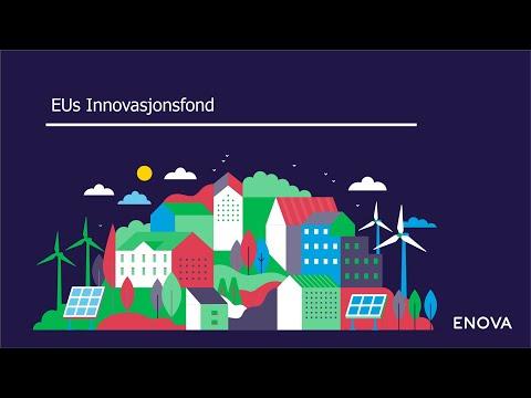 EUs Innovasjonsfond webinar