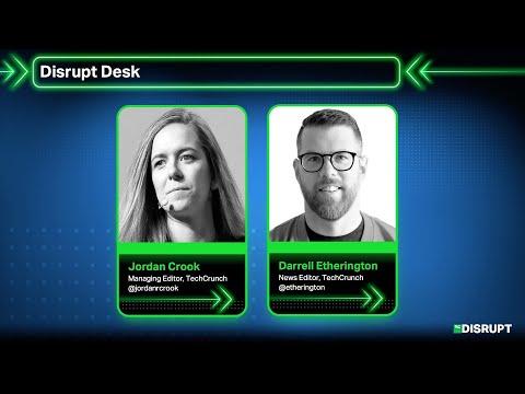 The Disrupt Desk: VC
