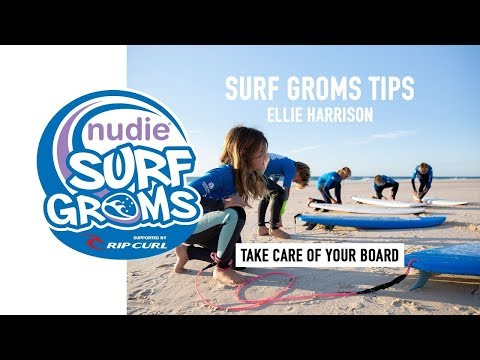 Surfing 101: Taking Care of Your Board, Lesson 6