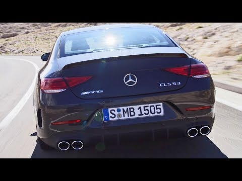 Mercedes CLS 53 AMG (2019) New Audi S7 rival