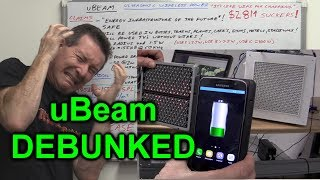 EEVblog #1001 - uBeam Ultrasonic Wireless Charging DEBUNKED!