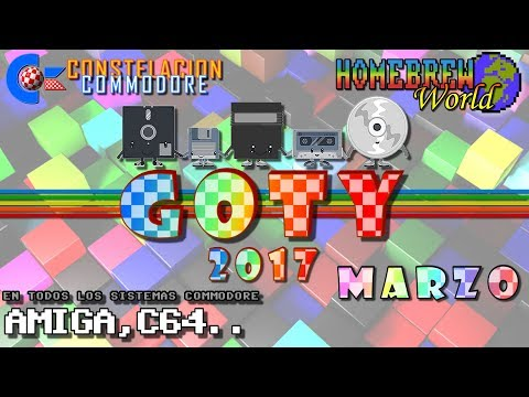 GOTY 2017 CC Marzo Juegos Amiga, C64, Plus4, VIC20.. | Homebrew World #0007