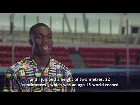 Meet Dominic Ogbechie....high jump, long jump and 200m triple threat