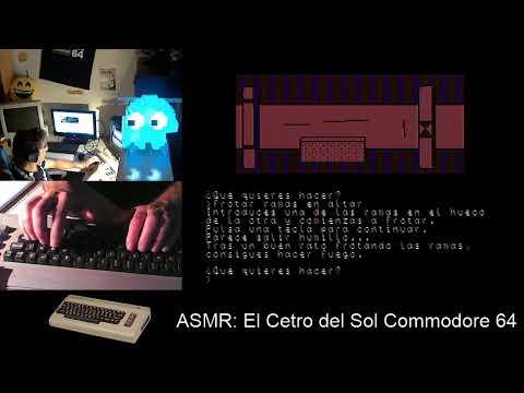 ASMR: El Cetro del Sol Commodore64 #Dozznar