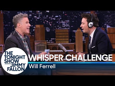 Whisper Challenge Gets Way Too Real with Will Ferrell