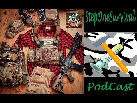 Medical Martial Law, Vaccine or Death - Survival Podcast