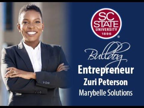 """SC State Celebrates """"Bulldog Entrepreneur�—Zuri Peterson"""