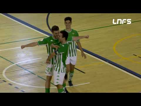 Real Betis Futsal B 6-3 Full Energía Zaragoza Jornada 1 Segunda División Temp 21/22