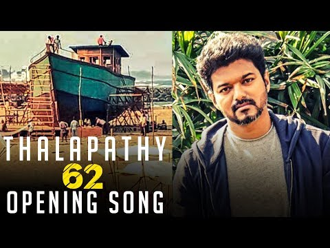 Thalapathy 62 Opening Song for Vijay!   Mass sets and Crew in Action!   TK 824