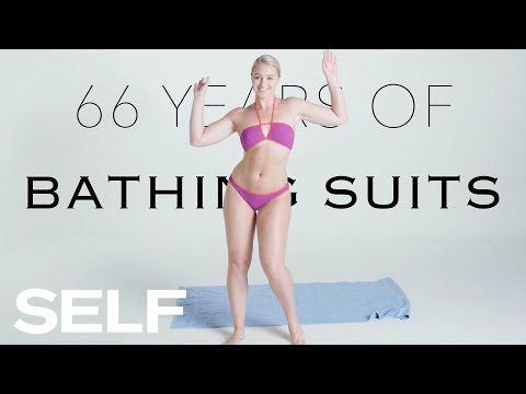66 Years of Bathing Suits Featuring Iskra Lawrence   SELF