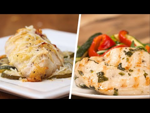 4 Low-Carb Chicken Dinners