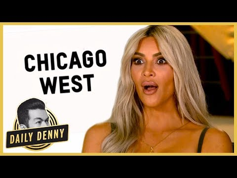 connectYoutube - Why Kim Kardashian and Kanye West Named Baby No. 3 Chicago | Daily Denny