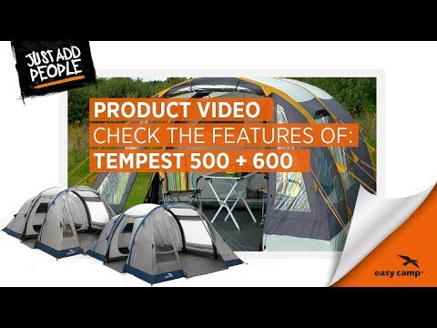 Tempest 500 & 600 Family Tent (2018) | Just Add People