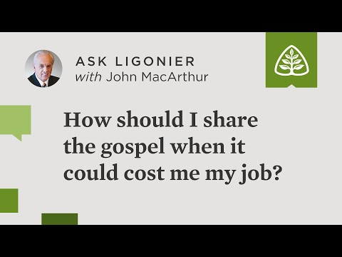 How should I share the gospel when it could cost me my job?